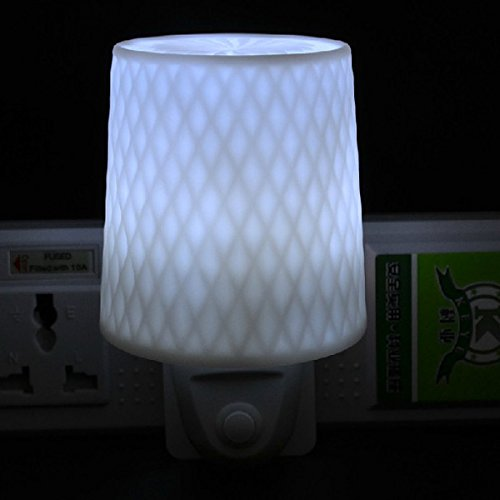 Led Small Conical Bedside Lamp Energy Saving Night Light