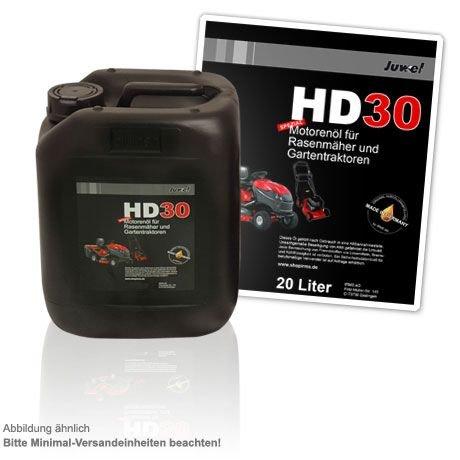 Juwel Motor-Öl 20 Liter Kanister für Rasenmäher und Rasentraktoren SAE 30 / HD30