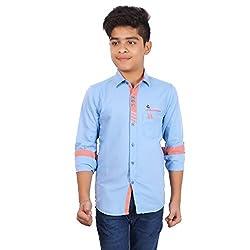 Aedi Cotton Casual Kids Shirts
