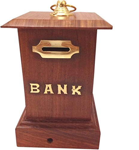 Wooden money bank, post office design Bank, piggy box,Wooden large piggy bank,Thanks Giving or Christmas Gift