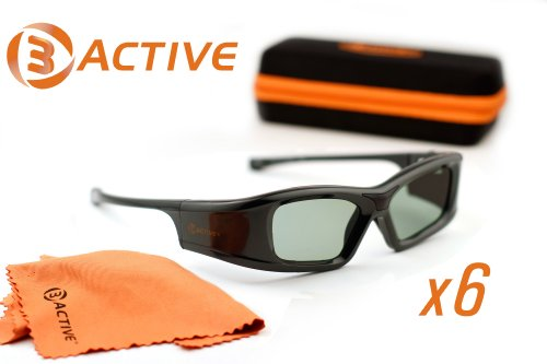 PANASONIC-Compatible 3ACTIVE® 3D Glasses. For