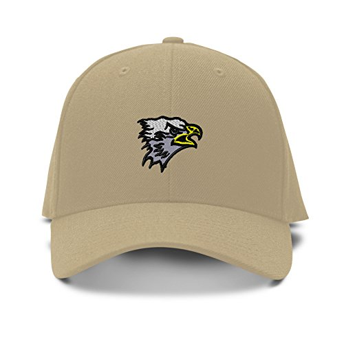 SM. EAGLE HEAD SCHOOL MASCOT Embroidery Embroidered Adjustable Hat Baseball Cap