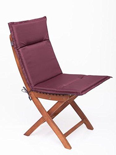 Sitzkissen, Stuhlkissen, Stuhlauflage für Gartenmöbel & Gartenstuhl