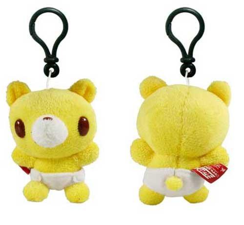 "Baby Gloomy Bear 3"" Clip-on Plush Yellow"