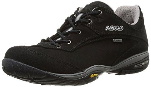 Asolo - Scarponcini da escursionismo, Donna, Nero (Schwarz - Noir (A388 Noir)), 39,5