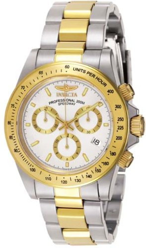 INVICTA SIGNATURE SPEEDWAY SWISS CHRONO WATCH 2-TONE WHITE DIAL 7029 - Buy INVICTA SIGNATURE SPEEDWAY SWISS CHRONO WATCH 2-TONE WHITE DIAL 7029 - Purchase INVICTA SIGNATURE SPEEDWAY SWISS CHRONO WATCH 2-TONE WHITE DIAL 7029 (Invicta, Jewelry, Categories, Watches, Men's Watches, Dress Watches)