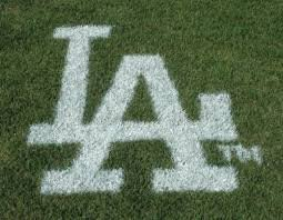 MLB Los Angeles Dodgers Lawn Logo