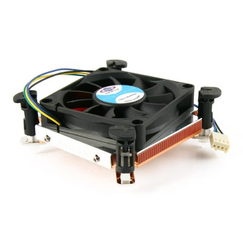 Dynatron T459 Low Profile Active Copper Lga1156 Intel Core I3/I5/I7 Cpu Cooler