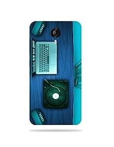 alDivo Premium Quality Printed Mobile Back Cover For Micromax Canvas Nitro 3 E455 / Micromax Canvas Nitro 3 E455 Case Cover (MN501)