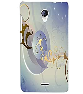 MICROMAX A106 UNITE 2T ART Back Cover by PRINTSWAG