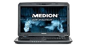 Medion NB X7829 Erazer 43.94 cm (17.3  Zoll) Notebook (Intel core_i7 4710QM Processor, 2,5GHz, 16GB RAM, 1000GB HDD, Win 8) titan schwarz