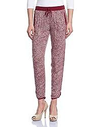 Madame Women's Pants (M1529710_Maroon_X-Large)
