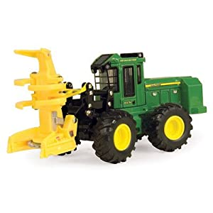 Ertl Collectibles 1:50 John Deere 843K Wheeled Feller Buncher