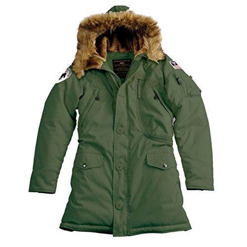 Alpha Ind. Frauen-Jacke Polar Jacket Wmn - dark green