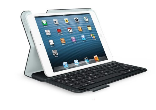 Logitech-Ultrathin-Keyboard-Folio-m1-for-iPad-mini-Black-QWERTZ-deutsches-Tastaturlayout