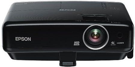 Epson MG 850 HD Vidéoprojecteur Homecinema 3D Tri LCD 2800 lumens VGA/HDMI/USB 10 watts Noir