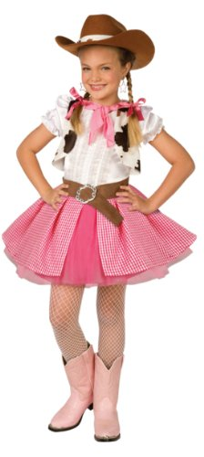 Cowgirl Cutie Kids Costume Med 8-10 Kids Girls Costume