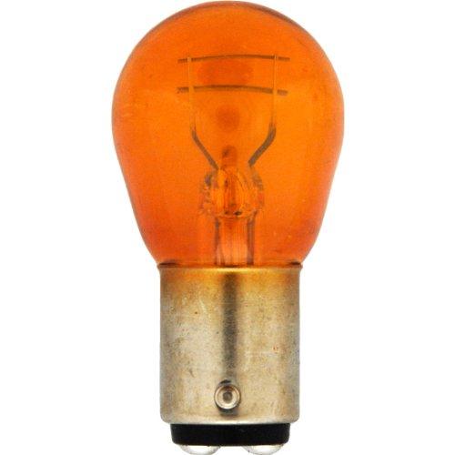 Sylvania 1157A Amber Miniature Lamp, Pack Of 2