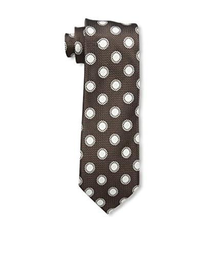 Tom Ford Men's Tie, Brown/White