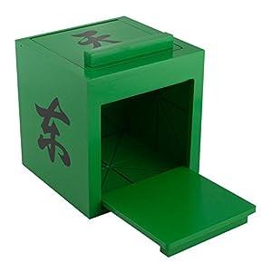 Mandarin Mirror Box - GREEN - Disappearing Magic Trick