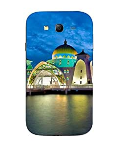 Snazzy Colorful Printed Hard Back Cover For Samsung Galaxy J1