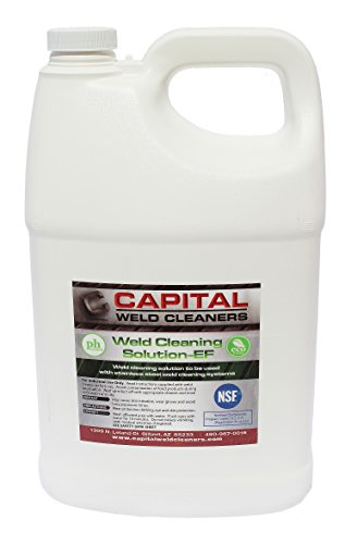 Capital Weld Cleaners 1GWCEF Cleaning Solution ECO, 1 gal (Stainless Pickling compare prices)