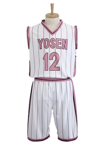 Kurokos Basketball anime Hiizumi High-School-Uniformen Himuro M günstig kaufen