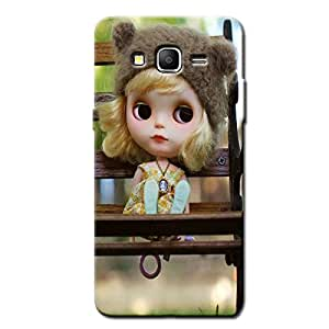 CUTE DOLL BACK COVER FOR SAMSUNG ON7