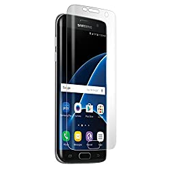 BodyGuardz Screen Protector for Samsung Galaxy S7 Edge - Retail Packaging - Clear