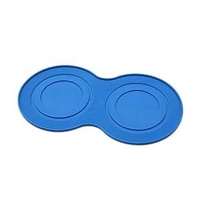 petprojekt Large Dogmat, Dog Bowl Mat, Blue