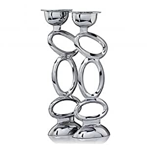 Amazon.com - Aros Large Abstract Candleholders (Set of 2) -