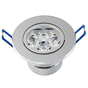 5w led downlight lamp recessed lighting fixture warm white recessed