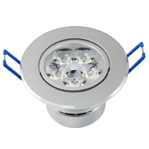 Lemonbest Energy Saving Dimmable 5W Led Downlight Lamp Recessed Lighting Fixture, Warm White
