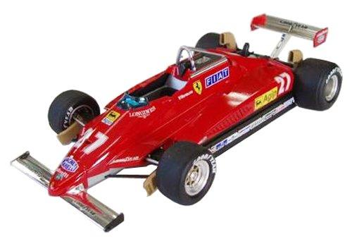 1/20グランプリシリーズSPOT No.31フェラーリ126C2 1982 サンマリノGP (1/8スケール塗装済完成品ヘルメット付き)