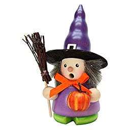 1-670 - Christian Ulbricht Incense Burner - Witch - 5.25''''H x 3''''W x 3''''D by Taron Collections