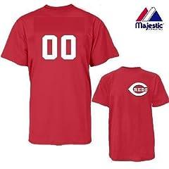 Cincinnati Reds Combo MLB CAP & JERSEY Major League Baseball Licensed Replica... by Authentic Sports Shop