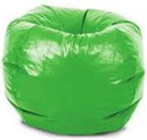 Comfort Research Classic Vinyl Bean Bag Chair, Lime