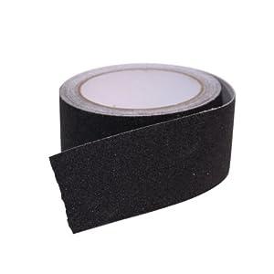"Camco 25401 Non-Slip Grip Tape for Steps (2"" x 15', Black)"