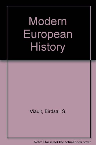 Modern European History PDF