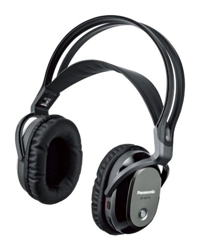 Panasonic デジタルワイヤレスサラウンドヘッドホンシステム ブラック RP-WF7-K