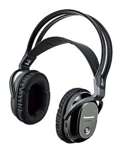パナソニック 密閉型ワイヤレスヘッドホン 増設用 ブラック RP-WF7H-K