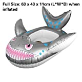 Kids Inflatable Swim Seat Float Ring - Fish