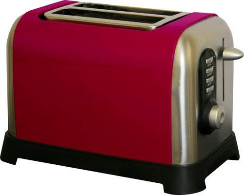Manhattan 2 Slice Toaster Colour: Red from Sabichi
