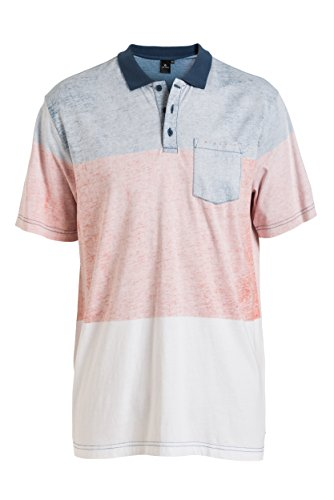 Rip Curl -  Polo  - Uomo, Uomo, Custom S/S Polo, Blue (Dark Denim), M