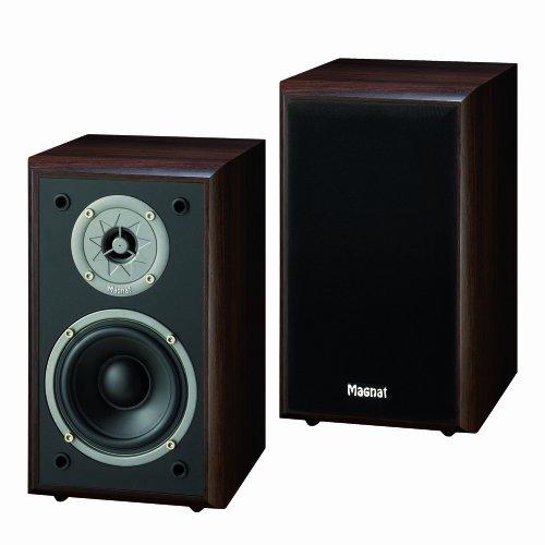 Magnat Monitor Supreme 100 mocca 2-Wege Regal Lautsprecher (110 Watt) Paar