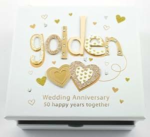 Amazon Wedding Gift List Uk : ... Wedding Anniversary Photo Album & Keepsake Box Gift TP15150: Amazon.co