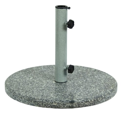 Commend Limited UMB46-BK Granite Umbrella Base