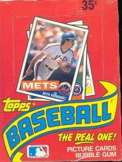 1985 Topps Baseball Cards - Wax Pack (1 Pack of 15 Cards + Stick of Gum)