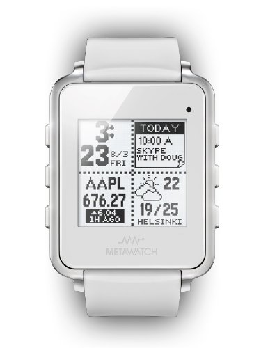 Meta Watch Ltd MW3001 Frame-white (Metawatch Frame compare prices)