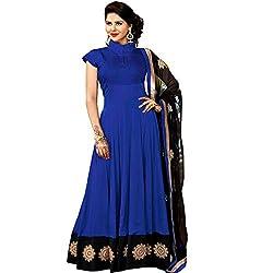 Adah Fashions  Unstitched Georgette Salwar Kameez 553-8114